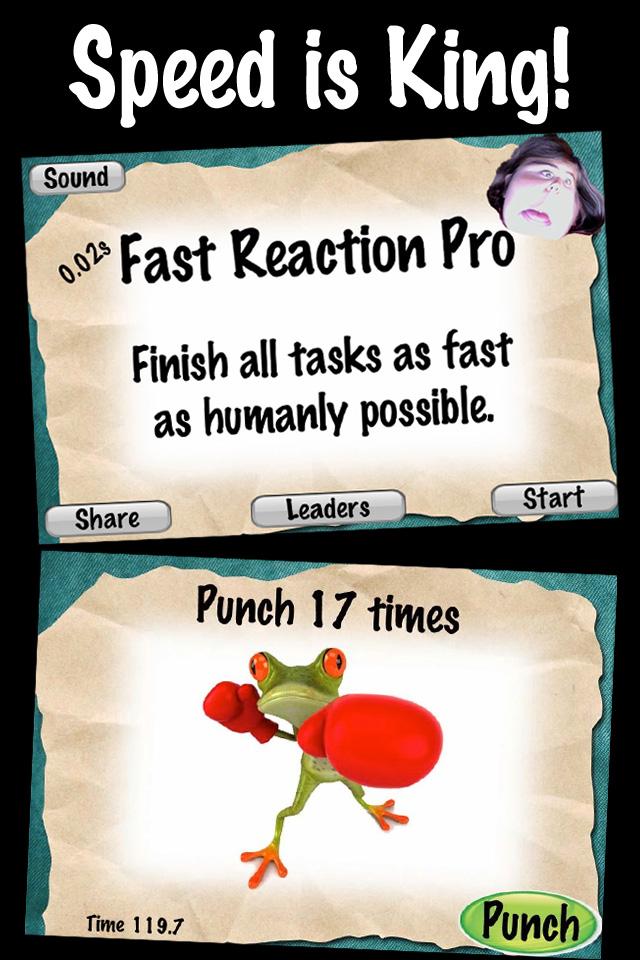 Screenshot 0.02s Fast Reaction Pro